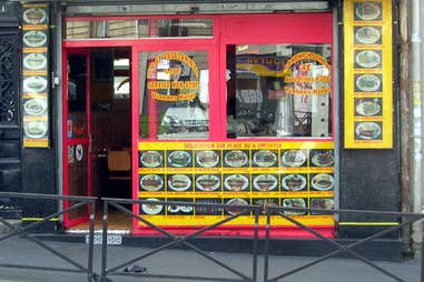 Paris kebap stand