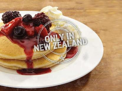 Wendy's wildberry pancakes New Zealand
