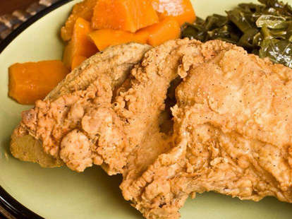 fried chicken busy bee cafe