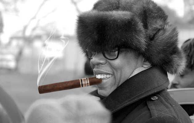Get that ash off your shoulder: Jay-Z finally has his very own cigar