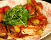 Brick Roasted Chicken at Bocce Bar Miami