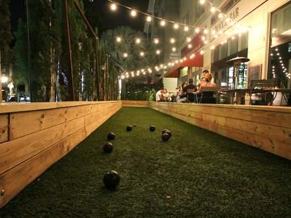 Bocce Ball Court at Bocce Bar Miami