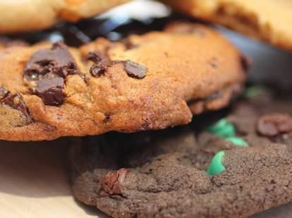 Cookies at Insomnia Cookies Miami