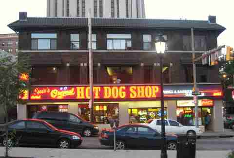 essie's original hot dog shop