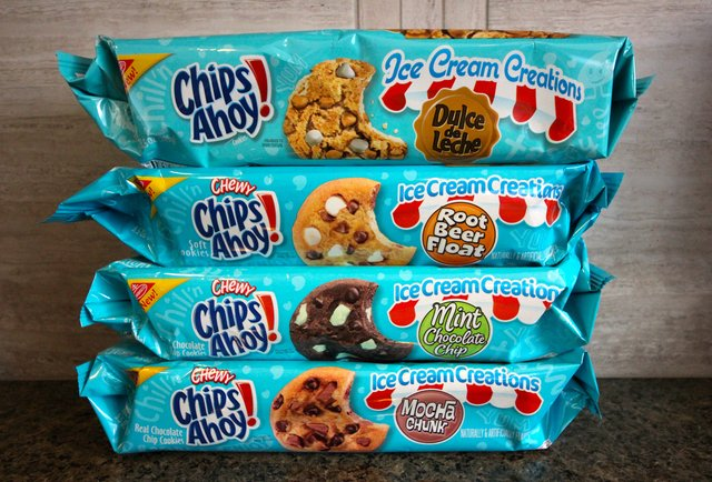We tried all the new Chips Ahoy! ice cream flavors