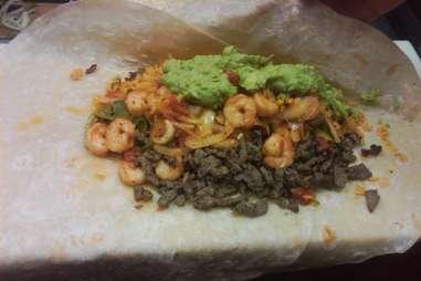 JV's Mexican Food burrito