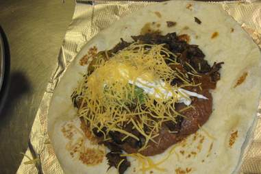 Habanero's Grill burrito