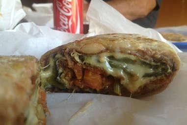 La Azteca burrito