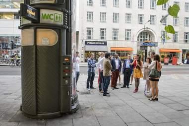 public toilet london
