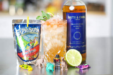 Capri Sun cocktail