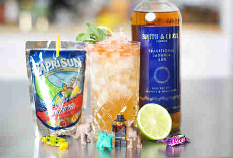 Capri Sun cocktail