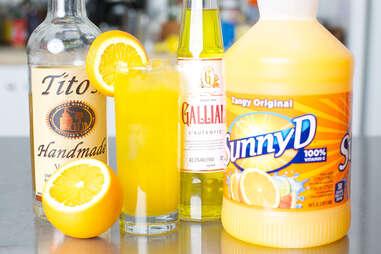 Sunny D cocktail