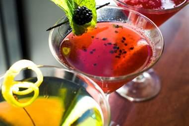 Mission American Kitchen cocktails