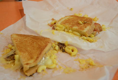 Chedd's Gourmet Grilled Cheese Best Mac and Cheese ATX