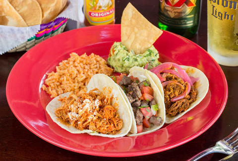 mexican food at la mexicana