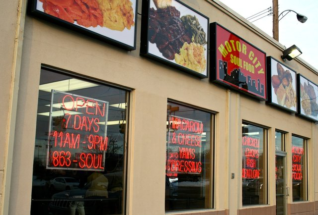 Motor city soul food thrillist detroit for Motor city soul food southfield michigan