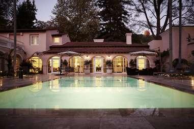 Presidential Suite pool at Hotel Bel Air
