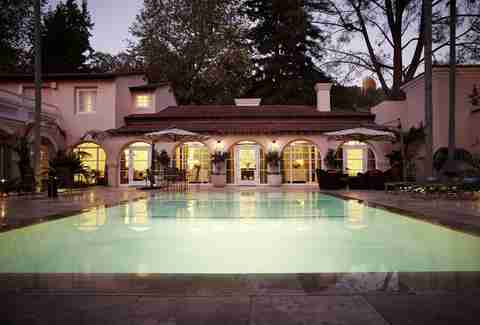 Presidential Suite pool at Hotel Bel Air
