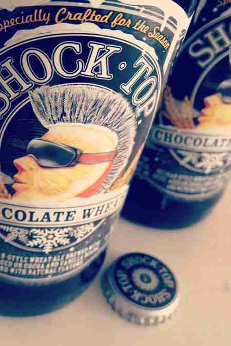 Shock Top chocolate wheat