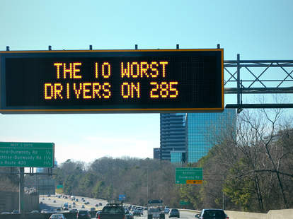 10 worst drivers on 285