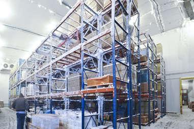 dippin dots warehouse