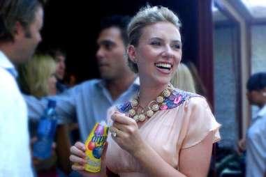 Scarlett Johansson dippin dots