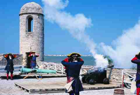 St. Augustine Fort Demo