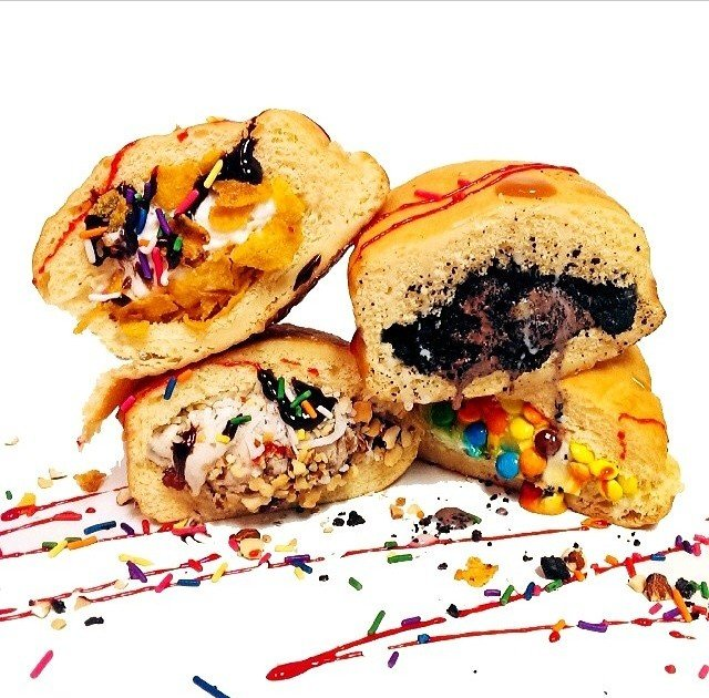 New ice cream-stuffed donuts celebrate America's love of stuffing food in other food