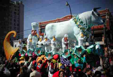 "Dogs, toilet brushes, high heels, and coconuts: a brief guide to notable Mardi Gras ""krewes"""