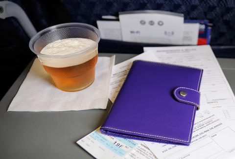 Beer and a passport
