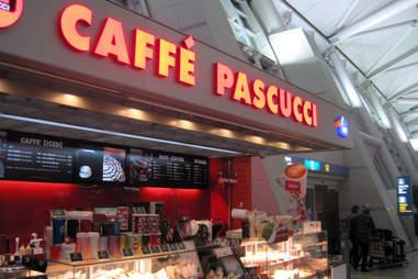Caffe Pascucci at Seoul International Airport
