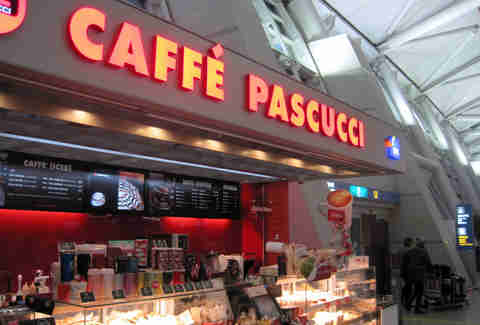 Caffe Pascucci at Seoul International Airport