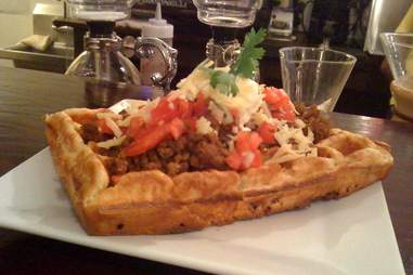 Taco waffle