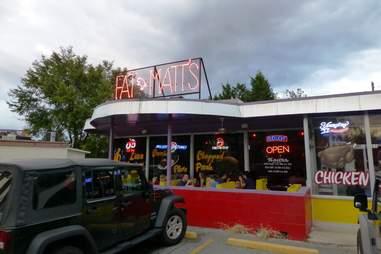 Fat matt's exterior