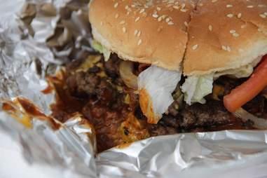 burger at ann's