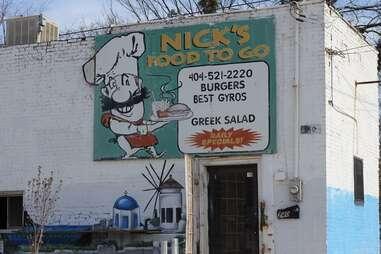 Nick's exterior