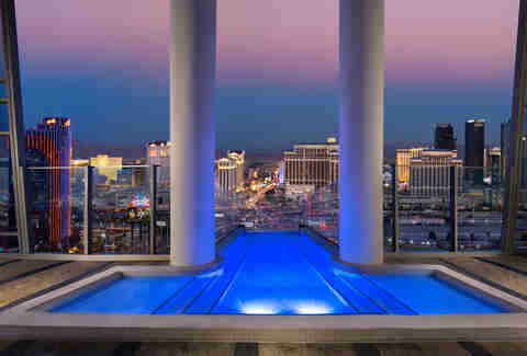 Two story sky villa at Palms Casino Resort