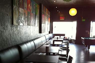 Slingshot Lounge interior