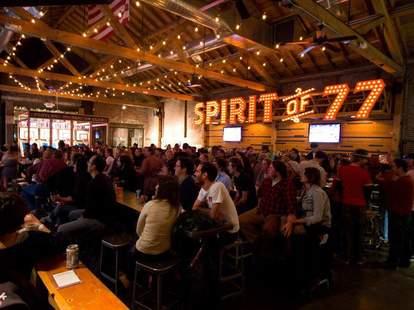 Spirit of 77 interior