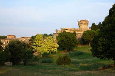 Exterior of Fortezza Medicea