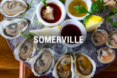 Somerville Oyster Happy Hours BOS