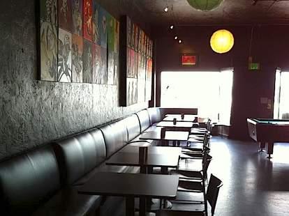 Slingshot Lounge interior