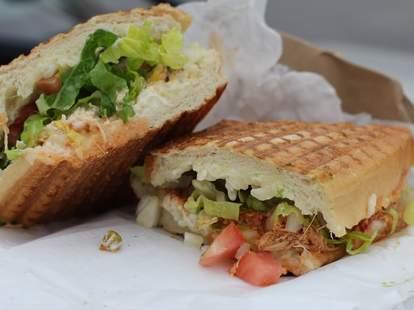 sandwich at bellaggio's