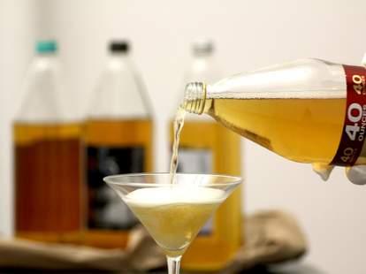 40 in martini glass