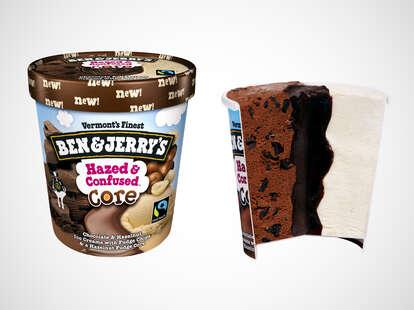 Ben & Jerry's Hazed & Confused Core ice cream