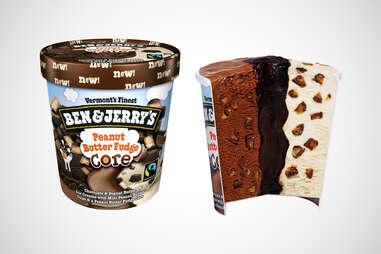 Ben & Jerry's Peanut Butter Fudge Core ice cream