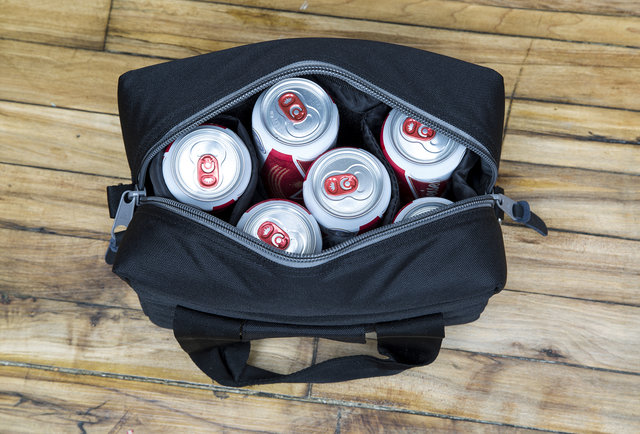This camera case doubles as a cooler