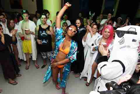 When in Robe - Underground Spa Party
