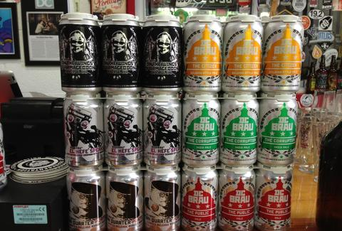 DC Brau beer cans craft beer brewery Washington D.C.