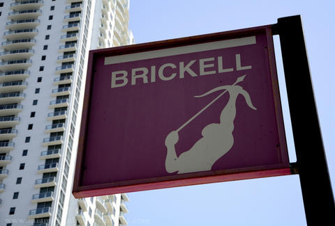 Brickell Sign